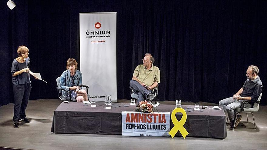 Salellas i Antich fan una defensa aferrissada de l'amnistia