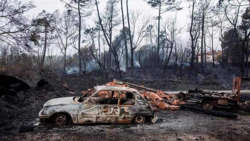Prisión provisional y sin fianza para el detenido por los incendios en Galicia