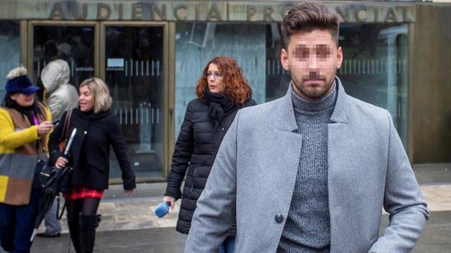 La víctima reafirma que los exjugadores de la Arandina conocían que era menor