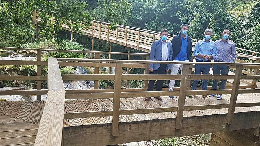 Inaugurado el paseo fluvial de Baredo al completo