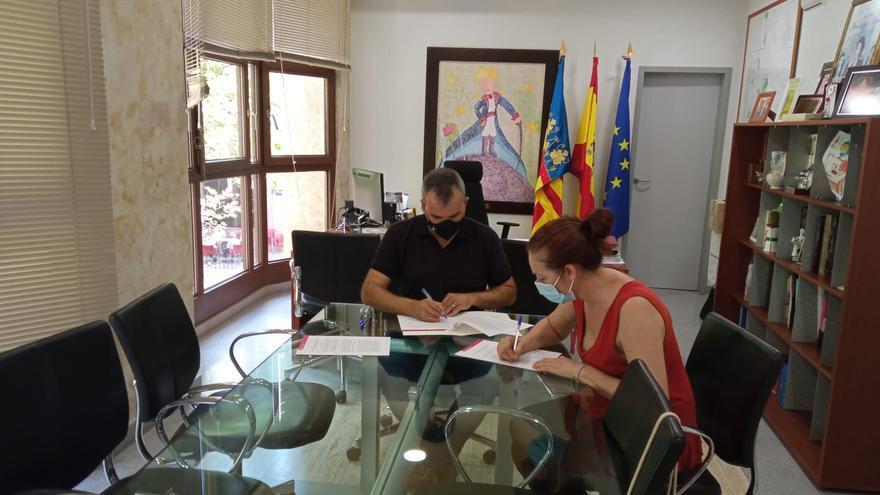 La asociación de enfermos mentales de Aspe recibe 12.000 euros de subvención municipal