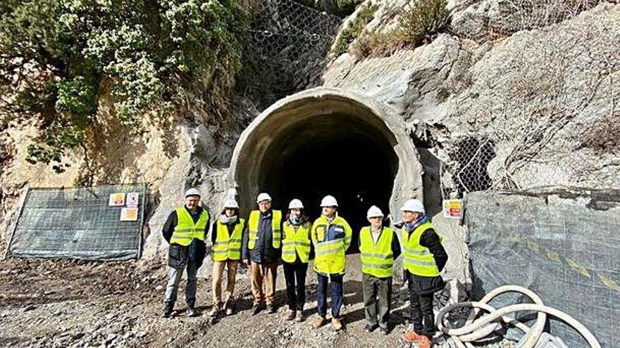 El Govern perfora la galeria d'evacuació del túnel de la C-14