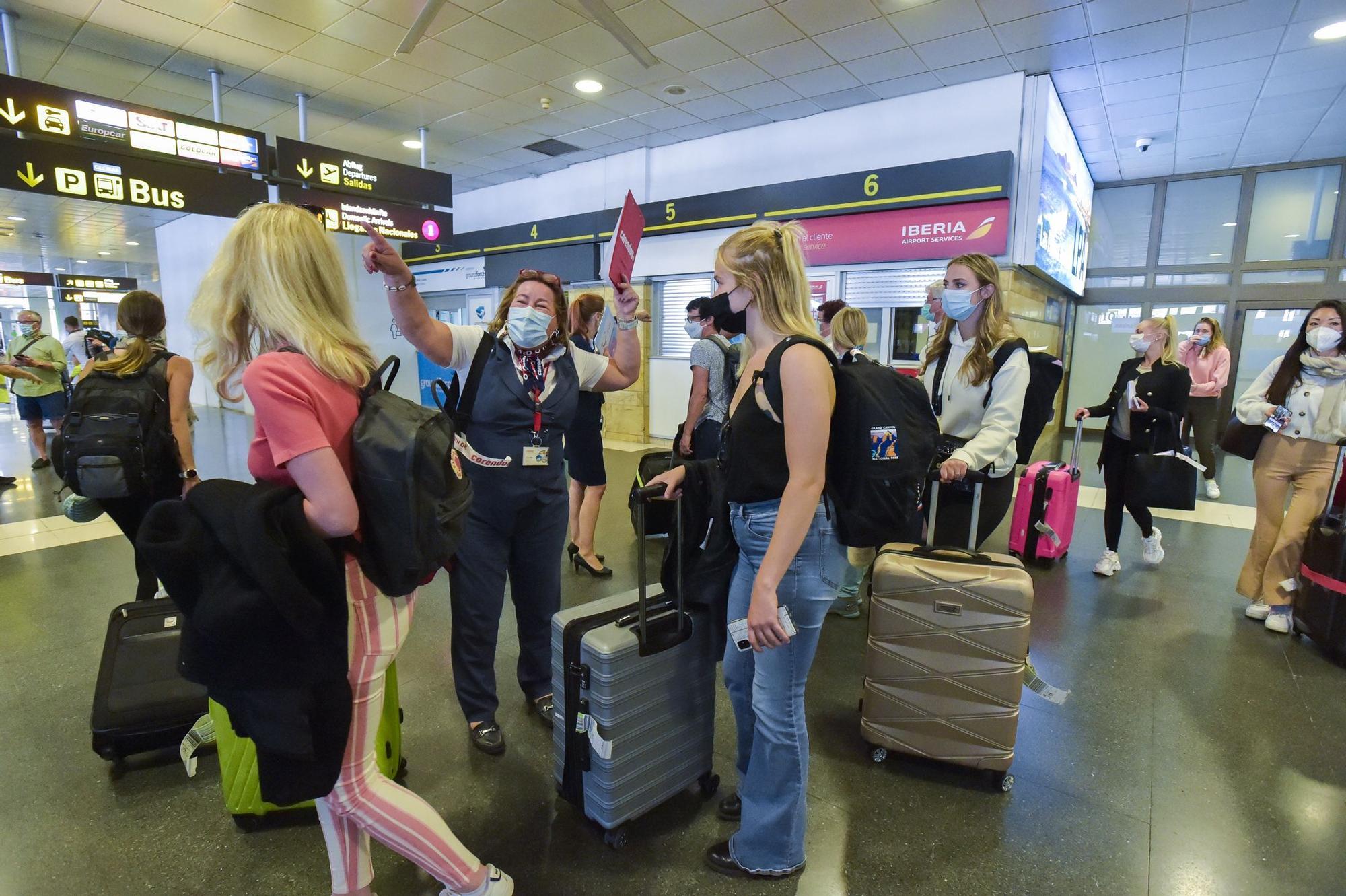 Viaje de prueba de turistas holandeses a Gran Canaria