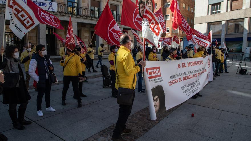 Correos, en pie de guerra, también en Zamora