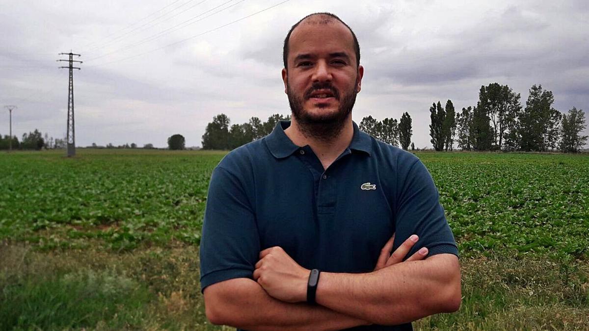 Vicente Merino, ingeniero zamorano que creó el proyecto de la biorrefinería . | Cedida