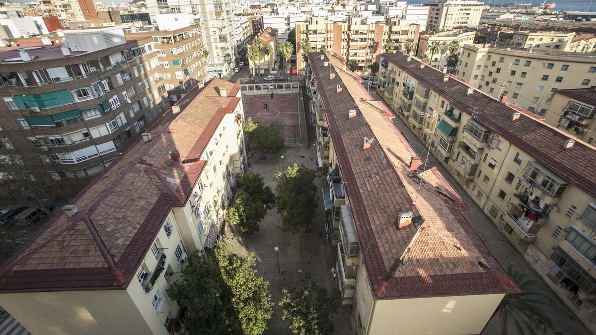 Homes in the Miguel Hernández neighborhood of Alicante