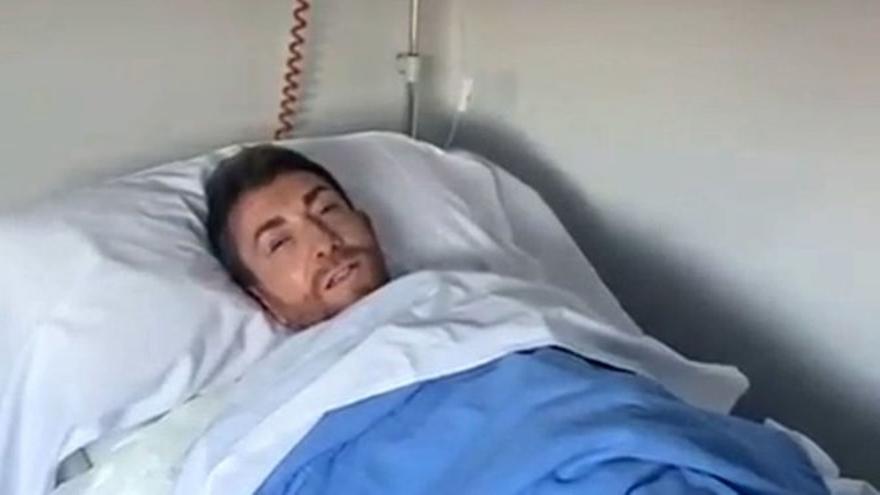 La preocupante imagen de Pablo Motos ingresado en el hospital