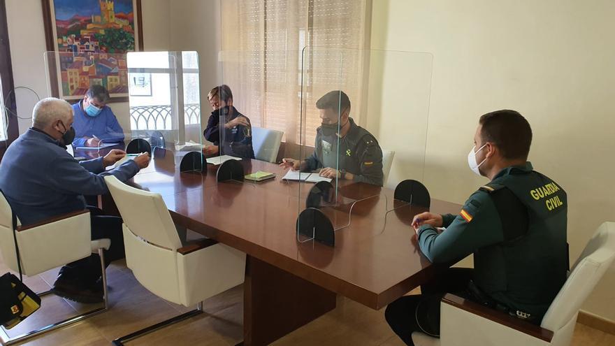 Guardia Civil y Policía coordinan sus acciones en Villena para evitar situaciones de riesgo ante el covid
