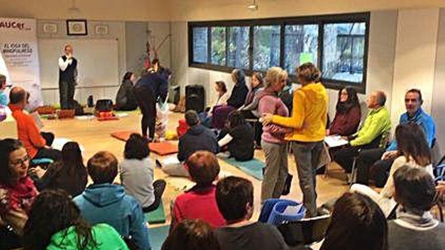 L'Aucer estrena seu a Bolvir amb una nova edició del curs de ioga i 'mindfulness'