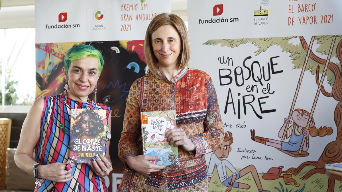Chiki Fabregat y Beatriz Osés, Premios SM El Barco de Vapor y Gran Angular