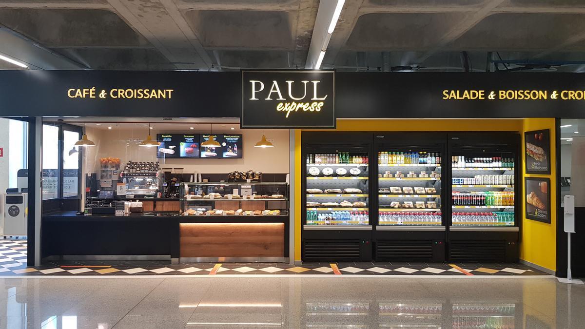 Local PAUL en el aeropuerto de Palma