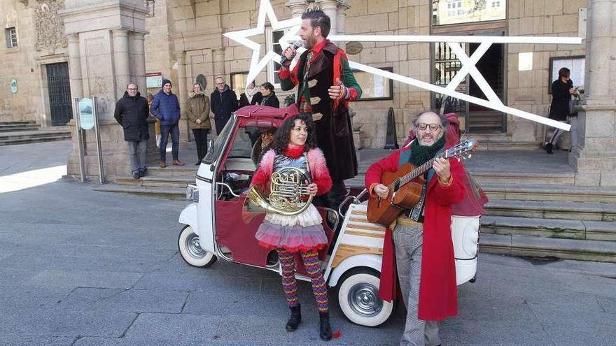 """Un espectáculo teatral convertirá estas fechas a Ourense en la """"ciudad do Nadal"""""""