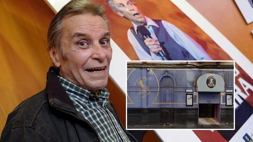 Manolo Vieira, preocupado por el cierre del Teatro  Pub Chistera, por el coronavirus