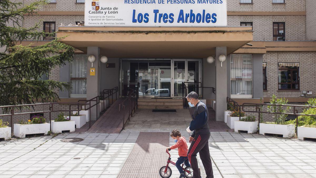 Residencia de los Tres Árboles, en Zamora capital.