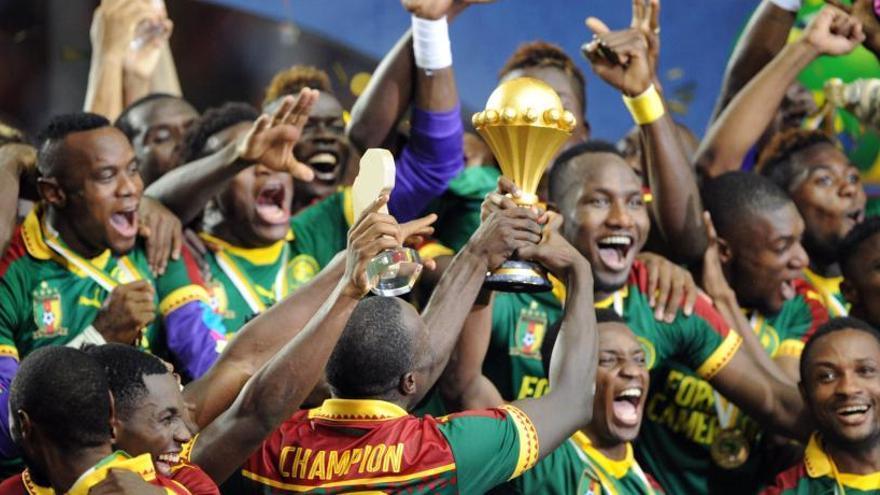 Camerún conquista la Copa África quince años después