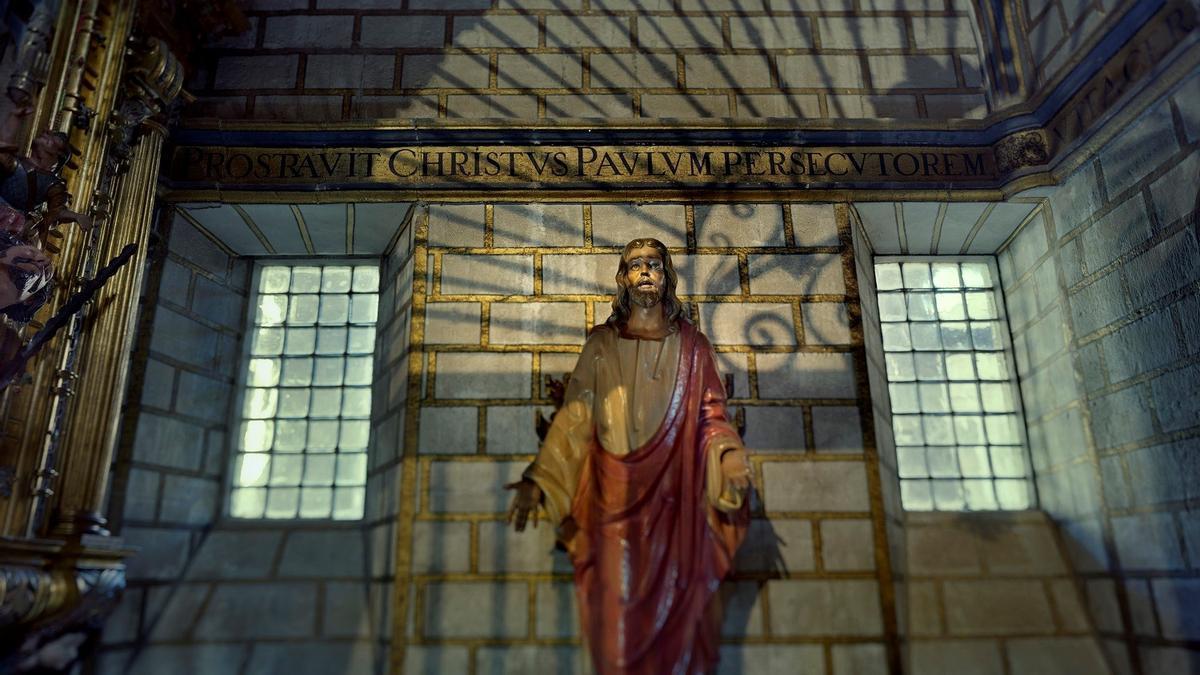 Imagen del Cristo de Luz y Vida