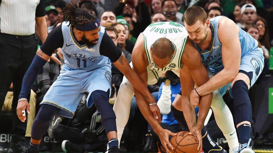 El atípico 'doble-doble' de Marc Gasol no puede con los Celtics