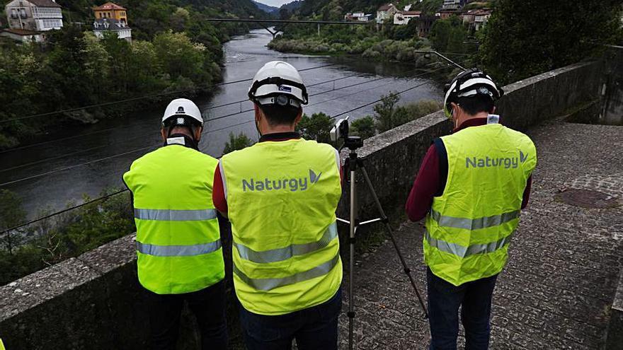 Naturgy prueba las sirenas del embalse de Os Peares para garantizar la seguridad vecinal