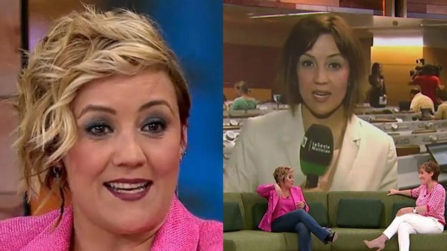 """Cristina Pardo recuerda su directo """"borracha"""" en laSexta: """"Estaba un poco espesa, pero no se notó"""""""