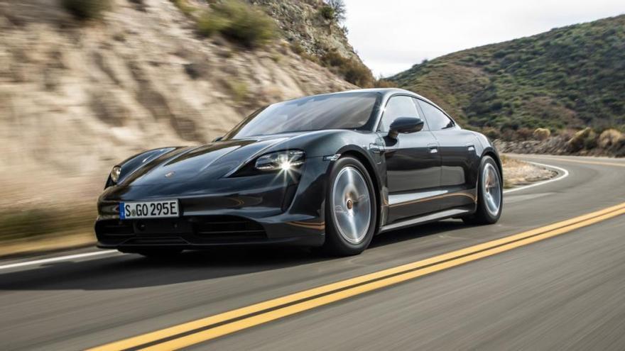 Porsche Taycan: electricidad de altos vuelos