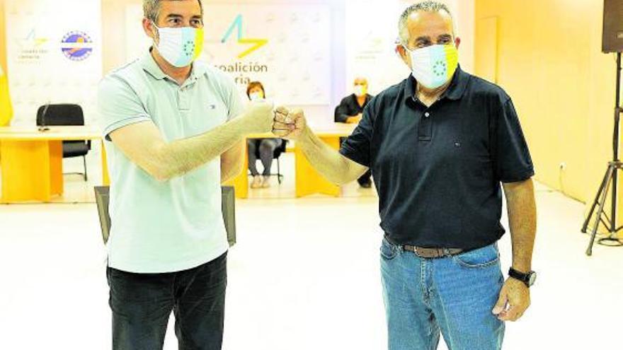Mario Cabrera refuerza su poder político en Coalición Canaria de Fuerteventura