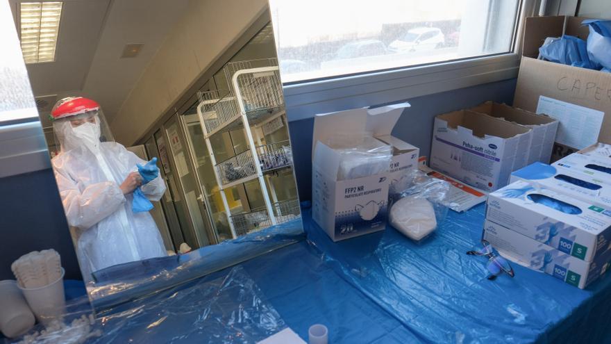 Veinte nuevos fallecidos con covid en el Departamento de Salud de Elda