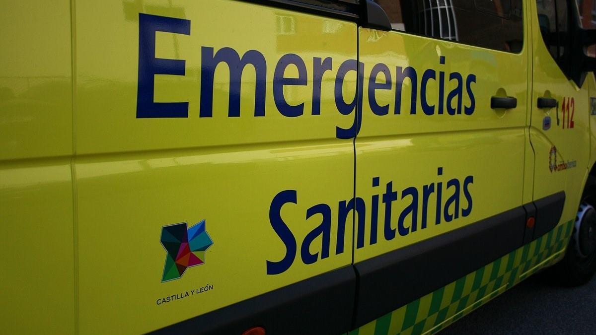 Ambulancia del Sacyl.