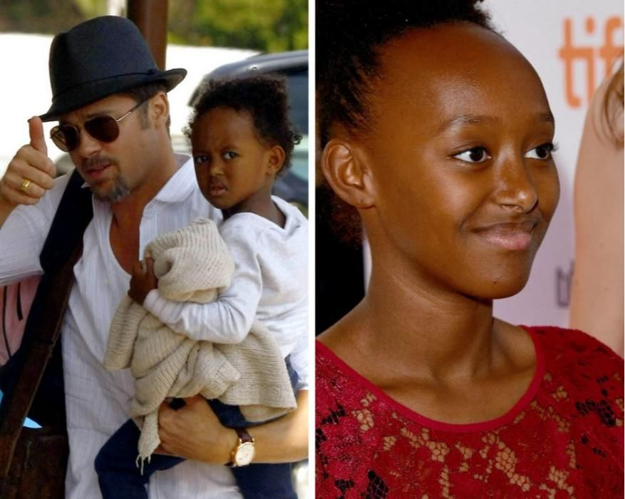 Zahara, otra de las hijas adoptivas de Brad Pitt y Angelina Jolie.