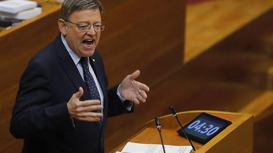 Puig reta a todos los grupos de Les Corts a respaldar sus presupuestos