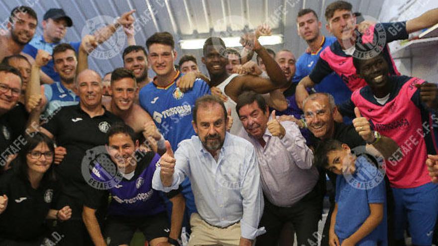El filial del Getafe no se olvida de Marcelino y el Valencia CF