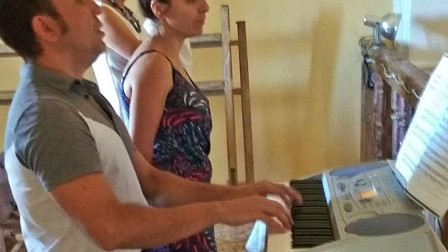 Misa musical para san Joaquín y santa Ana en el municipio zamorano de Prado