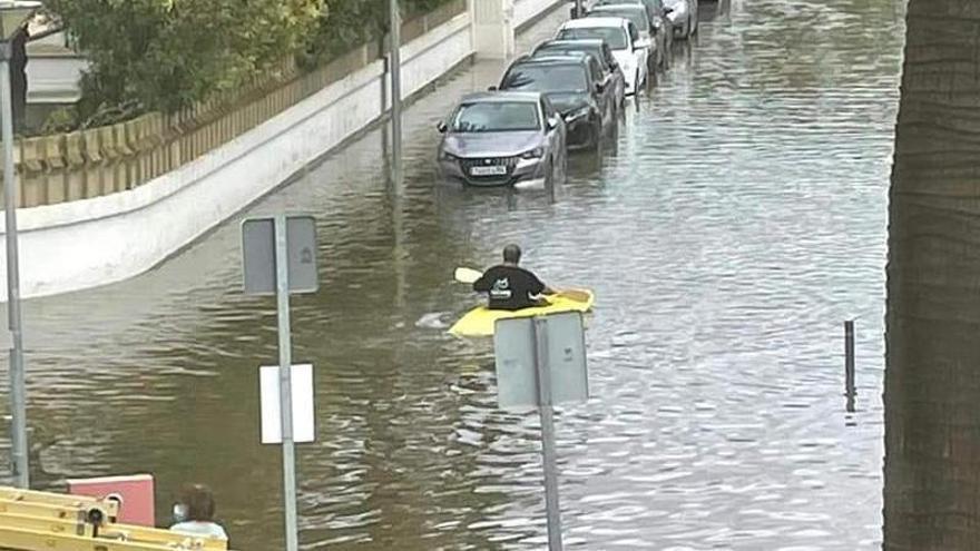 El paso de la DANA en Baleares causa 112 incidentes en 24 horas