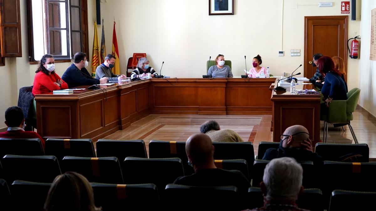 Reunión del consejo social de Benetússer