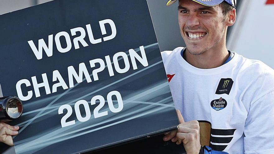 El palmesà Joan Mir assoleix per primera vegada el títol mundial de MotoGP