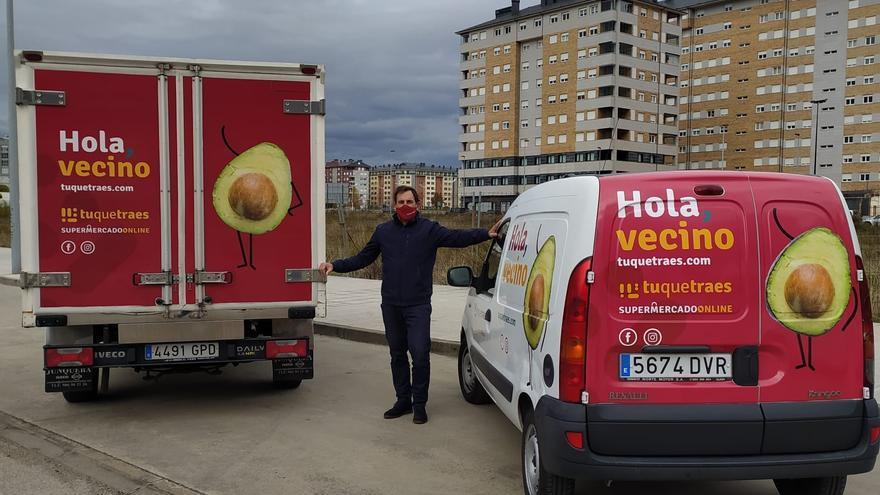 El supermercado on-line Tuquetraes.com llega a Vigo