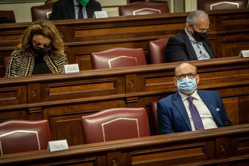Segunda sesión plenaria del Parlamento de Canarias, 2 de diciembre de 2020