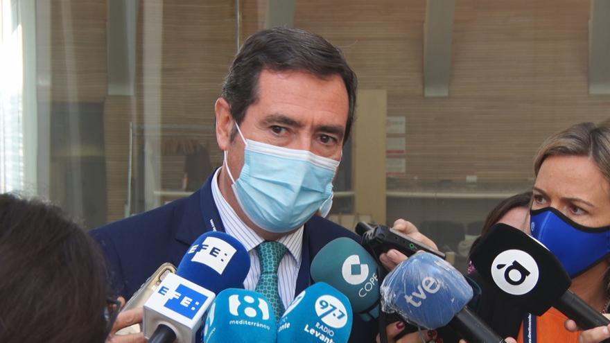 """Garamendi: """"No creo que la hostelería sea la culpable de la expansión del virus"""""""