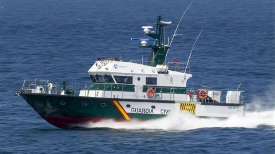 Confinan en Canarias a cinco guardias civiles de la patrullera Río Adaja