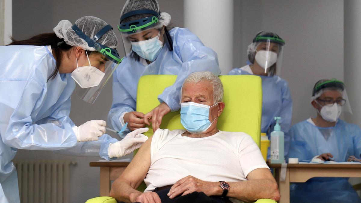 Continúa la vacunación en Galicia