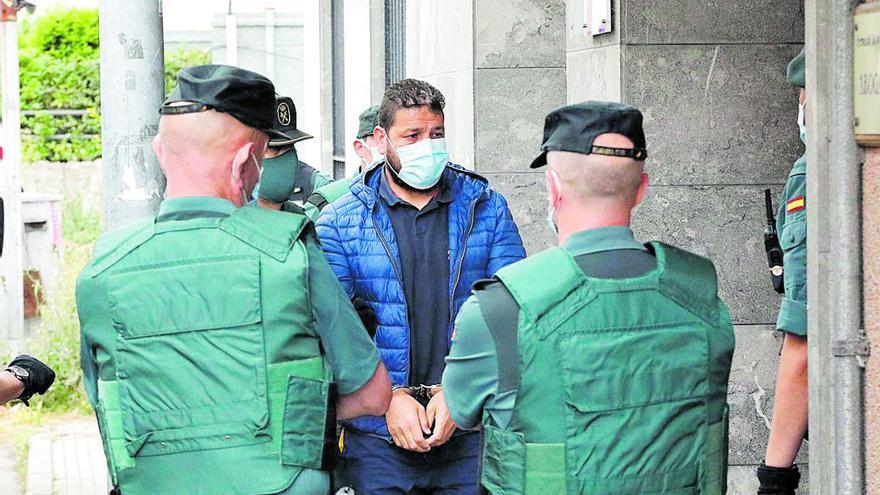 Los cuatro acusados del asesinato de Ardines, ya en la cárcel de Asturias para el juicio