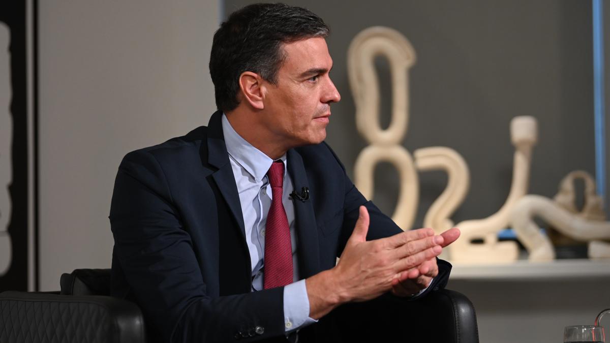 Pedro Sánchez, de visita als Estats Units