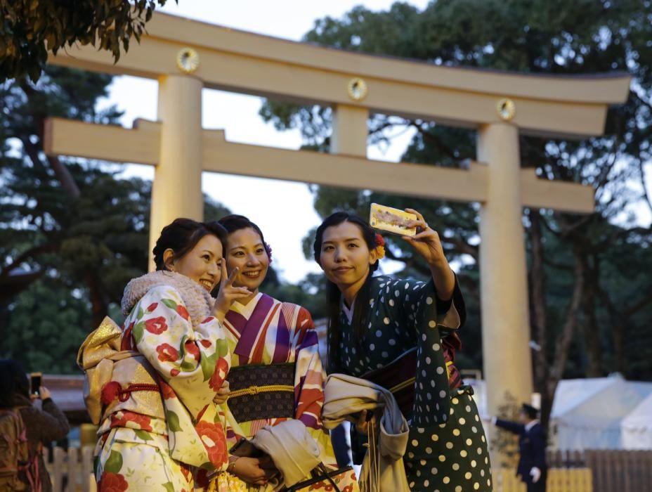 Fin de Año en Tokio, Japón.