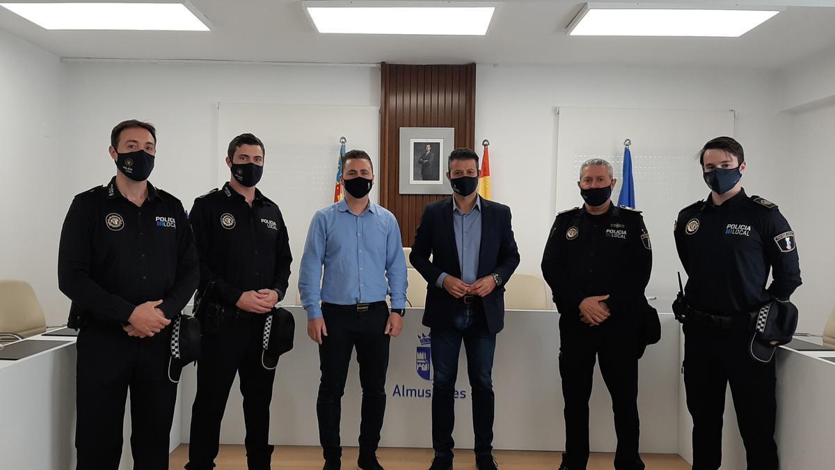 Almussafes incorpora tres nuevos policías