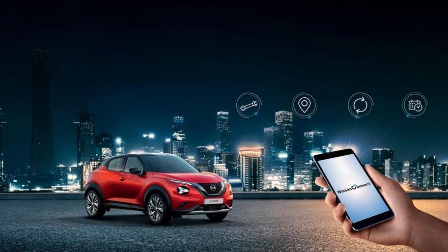 El Nissan Juke se conecta a la movilidad inteligente