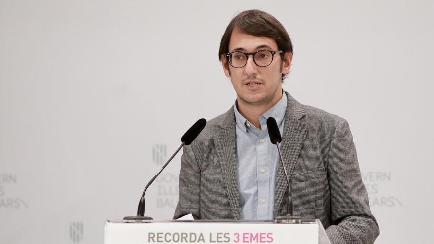 El conseller de Modelo Económico y portavoz, Iago Negueruela.