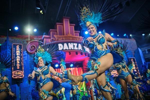 Concurso de comparsas de Santa Cruz de Tenerife 3. Danzarines Canarios  | 15/02/2020 | Fotógrafo: Andrés Gutiérrez Taberne