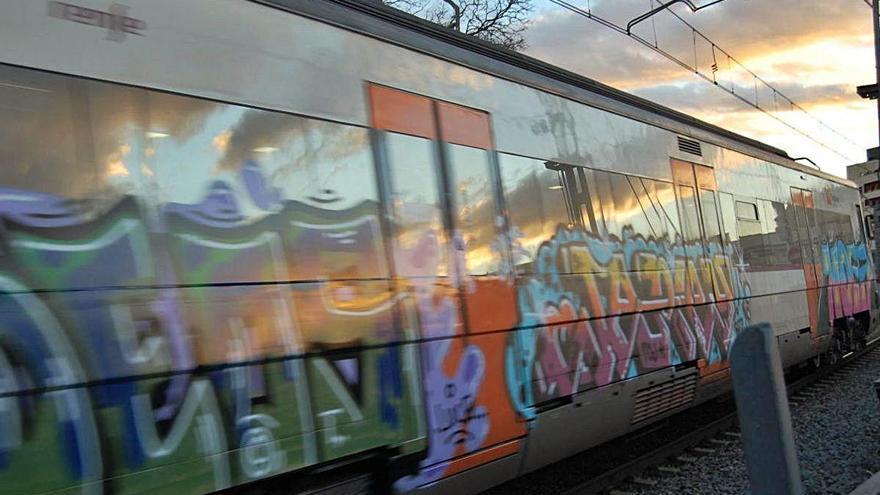 La circulació de trens a Girona afectada per un atropellament
