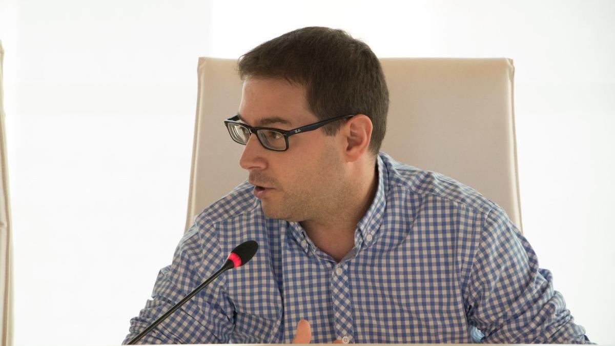 El diputado provincial de La Vall ens Uneix, Joan Sanchis