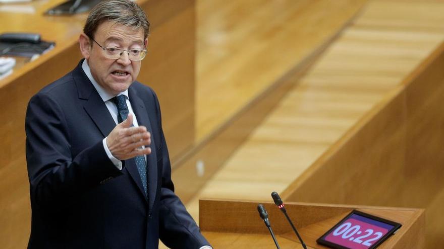 Puig pide una posición conjunta valenciana para negociar la financiación autonómica