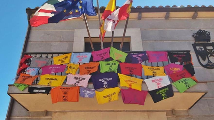 Villaralbo: Un colorido homenaje a las peñas